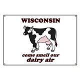 Wisconsin Smell Dairy Air Banner
