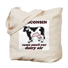 Wisconsin Smell Dairy Air Tote Bag