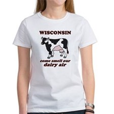 Wisconsin Smell Dairy Air Tee
