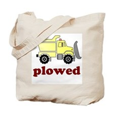 Plowed Tote Bag