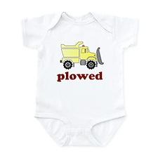 Plowed Infant Bodysuit