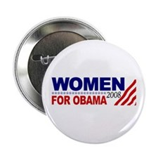 "Women for Obama 2008 2.25"" Button"