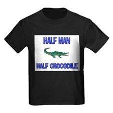 Half Man Half Crocodile T