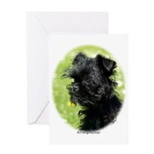 Affenpinscher Greeting Card