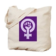 Feminist Woman Power Tote Bag