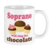 Chocolate Soprano Small Mug