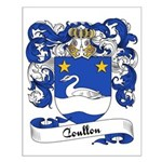 Coullon Family Crest Small Poster