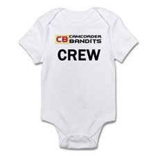 Camcorder Bandits Infant Bodysuit