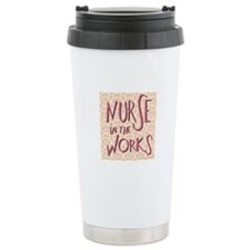Nurse in the Works Ceramic Travel Mug