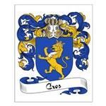 Cros Family Crest Small Poster