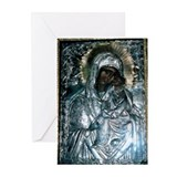 Unique Virgin mary Greeting Cards (Pk of 20)
