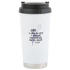 Art and Soul Ceramic Travel Mug