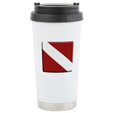 Dive Flag Ceramic Travel Mug