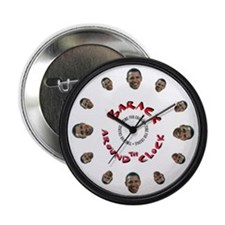 "Barack Around the Clock 2.25"" Button"
