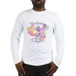 Jinjiang China Map Long Sleeve T-Shirt