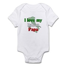 I Love My Italian Papa Infant Bodysuit