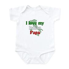 I Love My Italian Papa Infant Creeper