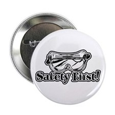 """Safety First 2.25"""" Button (10 pack)"""