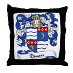 Demers Family Crest Throw Pillow