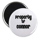 "Property of Connor 2.25"" Magnet (10 pack)"