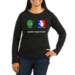 MuayJitsu Women's Long Sleeve Dark T-Shirt