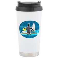 STAR Penguins S. America LOGO Ceramic Travel Mug