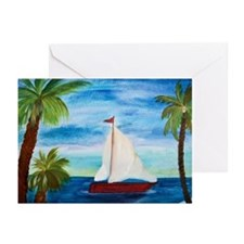 Sailboats Greeting Cards (Pk of 20)