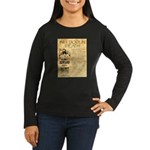 Bill Doolin Dead Women's Long Sleeve Dark T-Shirt