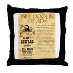 Bill Doolin Dead Throw Pillow