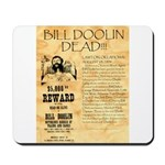 Bill Doolin Dead Mousepad