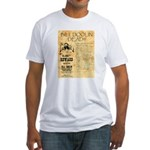 Bill Doolin Dead Fitted T-Shirt