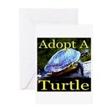 Adopt A Turtle Greeting Card