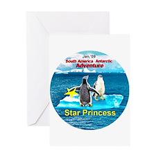 Star Antarctic Jan '09 Greeting Card
