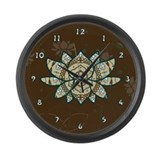 The Lotus Large Wall Clock