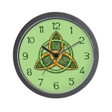 Celtic Trinity Knot Wall Clock