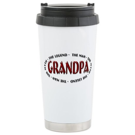 Grandpa The Legend Ceramic Travel Mug