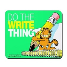 Garfield Writing Mousepad