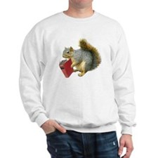 Squirrel with Book Jumper