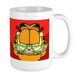Pop Quiz Garfield Coffee Mug
