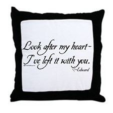 Look After My Heart Throw Pillow