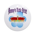 Mommy's Prince Keepsake (Round)