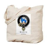 Clan Bruce Tote Bag