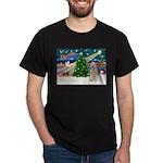 XmasMagic/Wheaten (#5) Dark T-Shirt