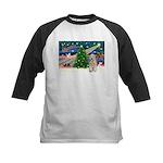 XmasMagic/Wheaten (#5) Kids Baseball Jersey