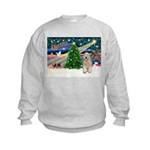 XmasMagic/Wheaten (#5) Kids Sweatshirt