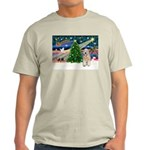 XmasMagic/Wheaten (#5) Light T-Shirt