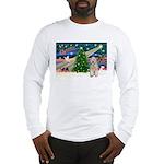 XmasMagic/Wheaten (#5) Long Sleeve T-Shirt