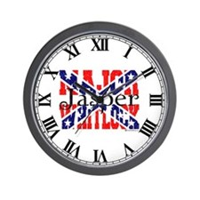 Major Jasper Wall Clock