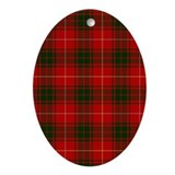 Clan Bruce - Just Tartan Oval Ornament