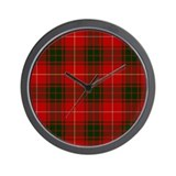 Clan Bruce - Just Tartan Wall Clock